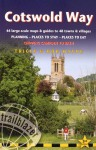 Cotswold Way: 44 Large-Scale Walking Maps & Guides to 48 Towns and Villages Planning, Places to Stay, Places to Eat - Chipping Campden to Bath (British Walking Guides) - Tricia Hayne, Bob Hayne