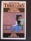 """4 NOVELS BY DAVID GOODIS: """"NIGHTFALL"""" """"DOWN THERE"""" """"DARK PASSAGE"""" """"THE MOON IN THE GUTTER"""". - David. Goodis"""