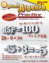 Pre-Algebra Practice Book, Grades 6 - 8 - Barbara Sandall, Travis Olson, Melfried Olson