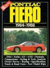 Pontiac Fiero, 1984-88 - R.M. Clarke