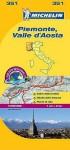 Michelin Piemonte, Valle d'Aosta - Michelin Travel Publications