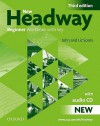 New Headway: Workbook (With Key) Pack Beginner Level - John Soars