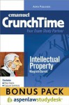 CrunchTime: Intellectual Property (Print + eBook Bonus Pack) - Margreth Barrett