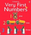 Very First Numbers Board Book (First Words Board Book) - Jo Litchfield