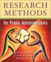 Research Methods for Public Administrators (4th Edition) - Elizabethann O'Sullivan, Gary Raymond Rassel, Gary Rassel, Maureen Berner
