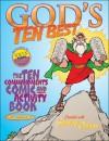 God's Ten Best: The Ten Commandments Comic And Activity Book - Gospel Light Publications