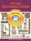 Full-Color Illuminated Initials CD-ROM and Book - Dover Publications Inc.