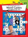 Challenge Your Mind - Word Games - Grades 4 to 5 - Jan Kennedy, Wendy Roh Jenks