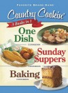 Country Cookin' 3 Books in 1: One Dish, Sunday Suppers, and Baking (Favorite Brand Name Series) - Publications International Ltd.