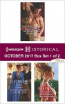 Harlequin Historical October 2017 - Box Set 1 of 2: An Innocent Maid for the DukeCourting Danger with Mr. DyerScandal and Miss Markham - Ann Lethbridge, Georgie Lee, Janice Preston