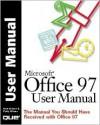 Microsoft Office 97 User Manual - Rick Winter, Patty Winter
