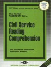 Civil Service Reading Comprehension: Test Preparation Study Guide, Questions & Answers - National Learning Corporation