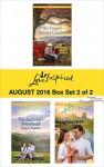 Harlequin Love Inspired August 2016 - Box Set 2 of 2: The Texan's Second ChanceThe Bachelor's SweetheartLakeside Romance (Blue Thorn Ranch) - Allie Pleiter, Jean C. Gordon, Lisa Jordan