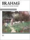 22 Selected Piano Works: Book & CD - Johannes Brahms, Joseph Banowetz