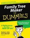 Family Tree Maker For Dummies - Matthew L. Helm, April Leigh Helm