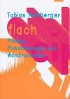 Flach: Plakatkonzept Un Wandmalereien - Tobias Rehberger, Eva Linhart
