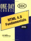HTML 4.0 Fundamentals One-Day Course - DDC Publishing