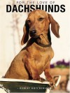For the Love of Dachsunds HardCover Book - Robert Hutchinson