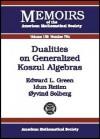 Dualities on Generalized Koszul Algebras - Edward L. Green, Idun Reiten
