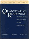 Quantitative Reasoning: Mathematics for Citizens in the 21st Century - Jeffrey O. Bennett, William L. Briggs, Cherilynn A. Morrow