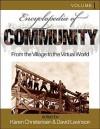 Encyclopedia of Community: From the Village to the Virtual World - Karen Christensen, David Levinson