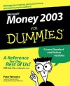 Microsoft Money 2003 for Dummies - Peter Weverka