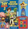Toy Story 3 Movie Theater Storybook & Movie Projector - Walt Disney Company, Cynthia Stierle