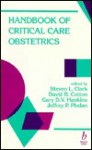 Handbook of Critical Care Obstetrics - Steven L. Clark
