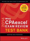 Wiley CPAexcel Exam Review 2014 Test Bank, Auditing and Attestation - O. Ray Whittington