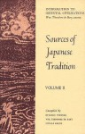 Sources of Japanese Tradition, Vol 2 - William Theodore de Bary, Ryusaku Tsunoda, Donald Keene