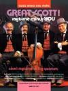 Music Minus One Violin: Great Scott: Joplin's Ragtime String Quartets: The Zinn String Quartet (Book & CD) (Music Minus One (Numbered)) - Scott Joplin