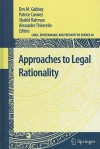 Approaches to Legal Rationality - Dov M. Gabbay