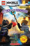 Lego Ninjago 2-books in One Binding: Techno Strike! Attack of the Nindroids [Paperback] - Various