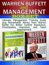 Warren Buffett and Management Box Set: Ultimate Management Training Guide plus Remarkable Advice from Warren Buffet For Better Conflict Resolution, Prioritization, ... Warren Buffett Books, Management books) - David Brown, Jenny White