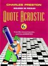 Quote Acrostic #6 - Charles Preston