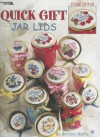 Quick Gift Jar Lids: Cross Stitch - Barbara Baatz