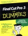 Final Cut Pro3 for Dummies - Helmut Kobler, Zed Saeed