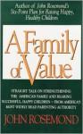 A Family of Value - John Rosemond