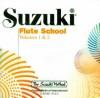 Suzuki Flute School, Volume 1 & 2 (CD) (Suzuki Method) - Toshio Takahashi