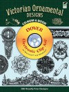 Victorian Ornamental Designs CD-ROM and Book - William Gibbs