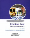 Criminal Law - Christina McAlhone, Rebecca Huxley-Binns