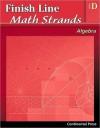 Algebra Workbook: Finish Line Math Strands: Algebra, Level D - continental press