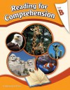 Reading Comprehension Workbook: Reading for Comprehension, Level B - 2nd Grade - continental press