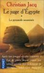La Pyramide assassinée (le juge d'Egypte, #1) - Christian Jacq