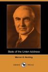 State of the Union Address (Dodo Press) - Warren G. Harding