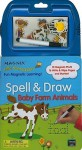 Spell & Draw Baby Farm Anima [With 12 Magnets and Marker] - Nancy Gayle Carlson