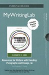 New Mywritinglab with Pearson Etext -- Standalone Access Card -- For Resources for Writers with Readings - Elizabeth C. Long