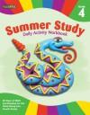 Summer Study Daily Activity Workbook: Grade 4 (Flash Kids Summer Study) - Flash Kids Editors