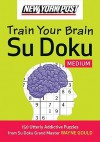 New York Post Train Your Brain Su Doku: Medium - Wayne Gould