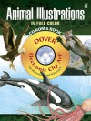 Animal Illustrations in Full Color CD-ROM and Book - Carol Belanger-Grafton